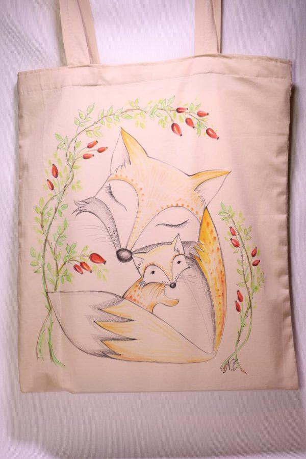 Líška - šípky